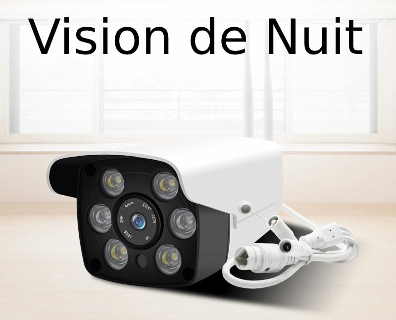 Caméra de surveillance extérieure Wifi