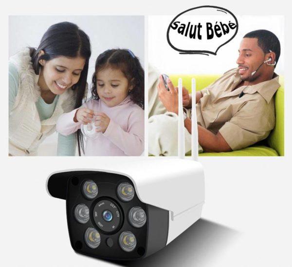 camera surveillance maison exterieur