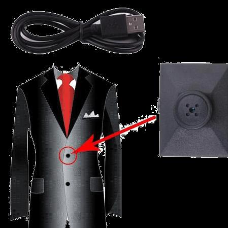 camera espion vêtement