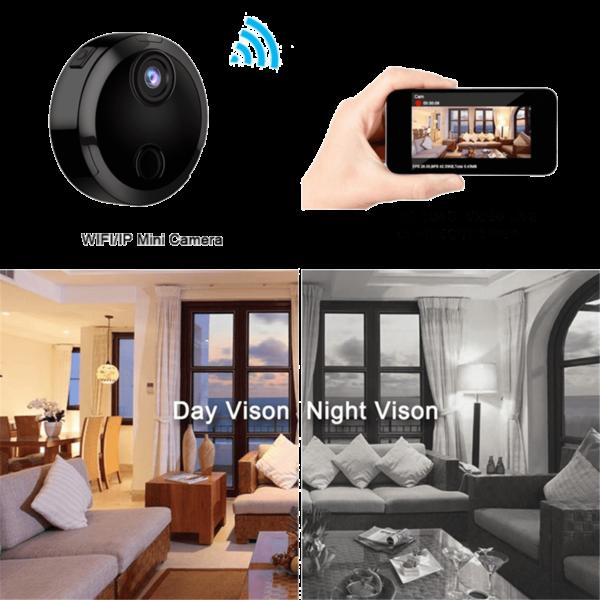 mini camera espion hd